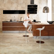 Kitchen Ttile Flooring Polishing