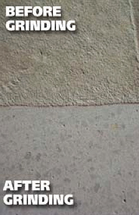 Concrete floor polishing grind seal prestige floor for How to clean concrete dust from floors