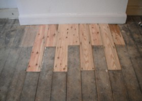 Wooden Flor Sanding and Reparing