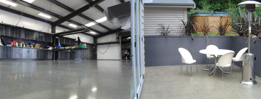 polished concrete Melbourne